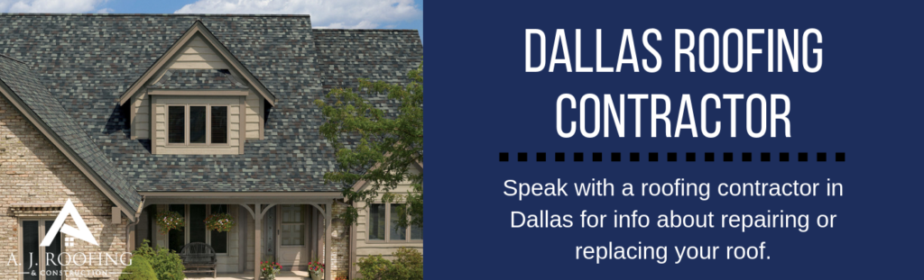 Dallas Roofing Contractors - A.J. Roofing & Construction