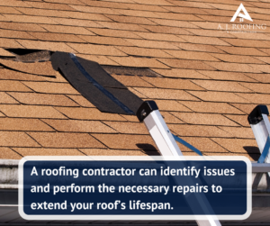 What Can A Roofing Contractor Do For Your Home - Roof Repairs - A.J. Roofing & Construction